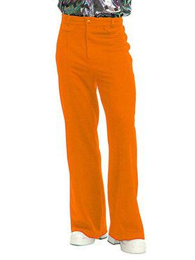 Men's Disco Pants - Orange
