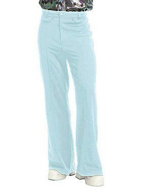 Men's Disco Pants - Powder Blue