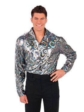 Mens Disco Shirt Costume