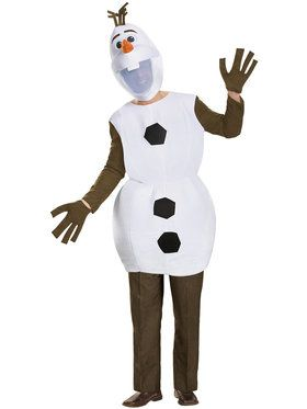 Men's Disney's Frozen Olaf Deluxe Costum