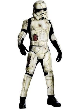 Mens Dlx Death Trooper Adult Costume