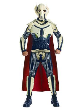 Star Wars Mens Dlx. General Grevious Costume