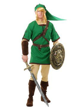 Mens Elf Warrior Adult Costume