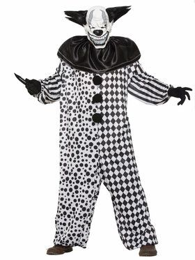 Evil Al the Clown Mens Costume