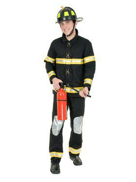 Men's Fireman Adult Costume