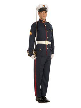 Formal Marine Costume for Adults