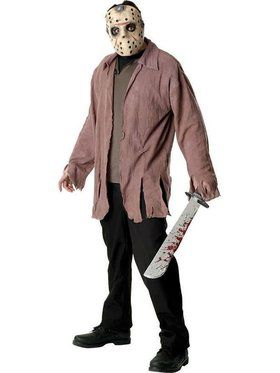 Friday The 13th Jason Voorhees Adult  sc 1 st  BuyCostumes.com & Horror Movie Costumes - Halloween Costumes | BuyCostumes.com