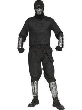 Mens Gaming Fighter Costume