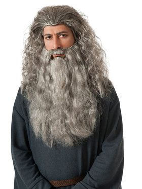 Mens Gandalf Beard Kit