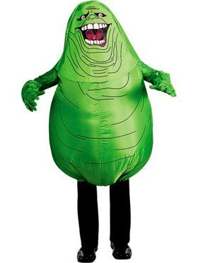 Adult Ghostbusters Inflatable Slimer Costume