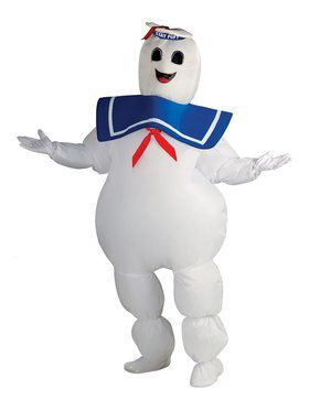 Inflatable Ghostbusters Mens Stay Puft Costume