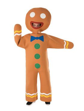 Mens Gingerbread Man Costume