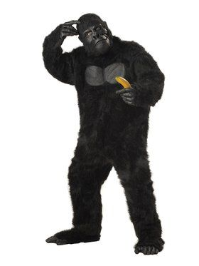Mens Gorilla Adult Costume