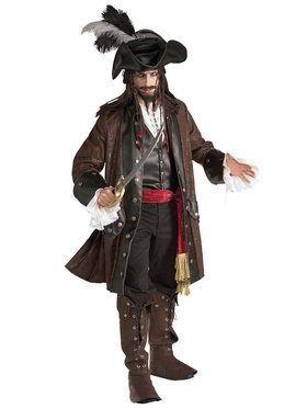 Grand Heritage Pirate Costume For Men