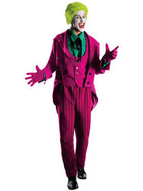 Grand Heritage DC The Joker Mens Costume