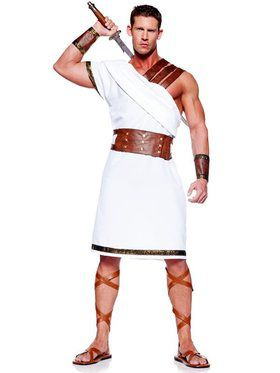 Mens Greek Warrior Adult Costume