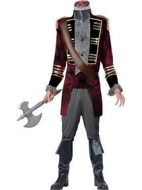 Men's Headless Horseman Deluxe Costume
