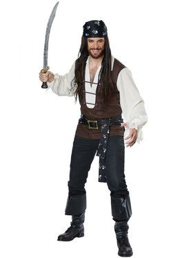 Mens High Seas Adventurer Costume