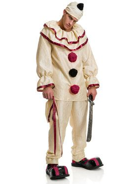 Men's Horror Clown Costume
