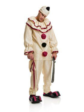 Men's Horror Clown Adult Costume