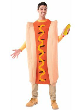 Hot Dog - Standard Adult Costume