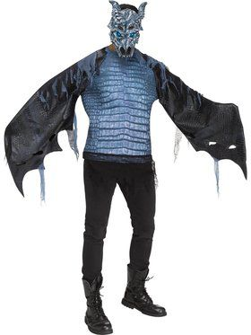 Mens Ice Dragon Costume