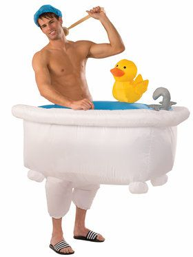 Inflatable Mens Bathtub Costume