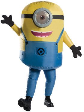 Men's Inflatable Minion Stuart Adult Cos