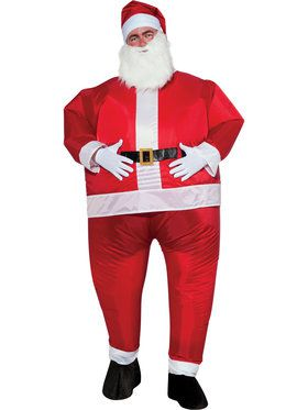 Santa Inflatable Mens Costume