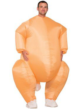 Mens Inflatable Turkey Costume