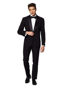Opposuits Men's Jet Set Black Festive Tuxedo