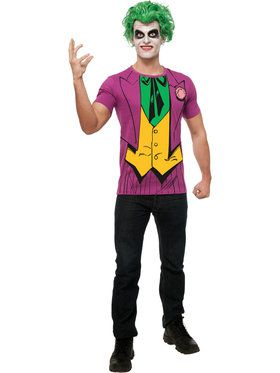 Mens Joker Costume Top