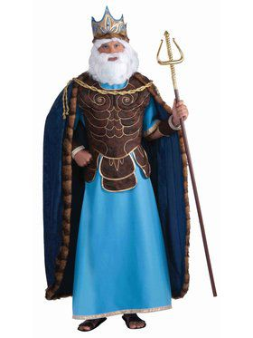 Mens King Neptune Costume