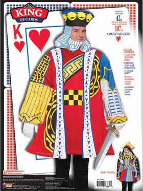 King Of Cards Adult Costume