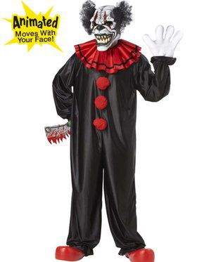 Men's Last Laugh The Clown Adult Costume