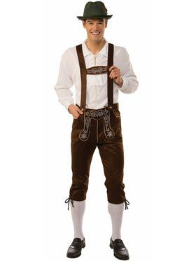 Men's Lederhosen Costume