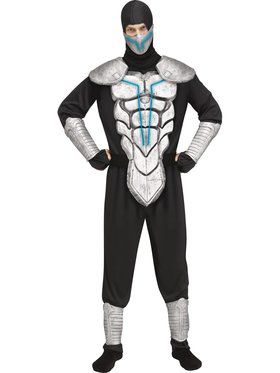 Mens Lightning Ninja Costume