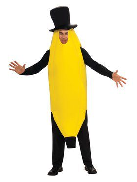 Mens Lightweight Banana Costume