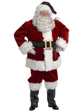 Mens Majestic Santa Suit Xxl