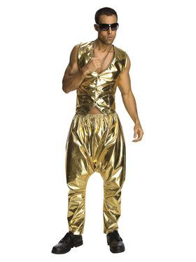 "Mens ""MC"" Gold Pants"