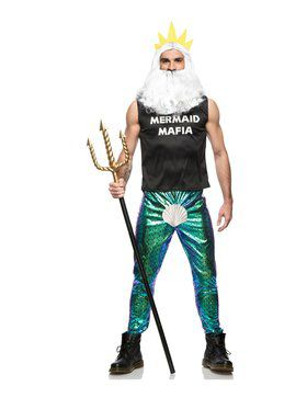 Mens Mermaid Mafia Costume