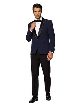 Men's Midnight Blue Festive Tuxedo