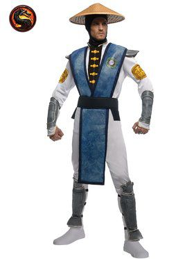 Mens Mortal Kombat Raiden Costume