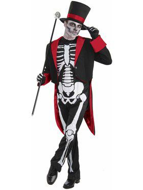 Mens Mr. Bone Jangles Costume