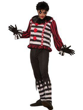 Mens Mr. Mayhem Male Clown Costume