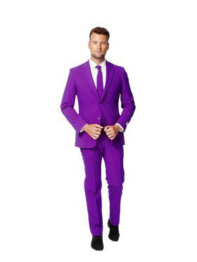 Men's Opposuits Purple Prince Suit