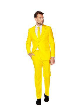 Men's Opposuits Yellow Fellow Suit