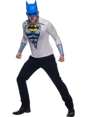 Adult Men's Photo Real Batman Costume T-shirt