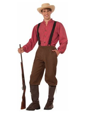 Men's Pioneer Man Costume