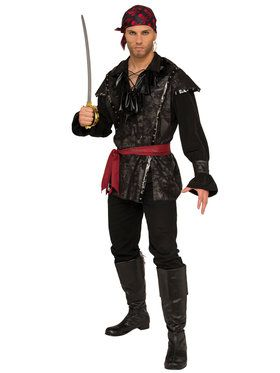 Men S Plundering Pirate Costume